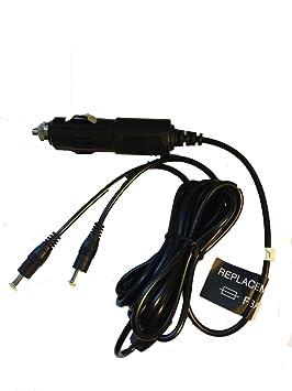 fyl coche adaptador cargador para Philips DVD portátil con ...