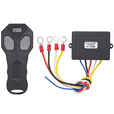 Yuangang Winch Wireless Remote Control Set Kit for Jeep ATV SUV Offroad DC 12v Wireless Winch Remote Control: Automotive