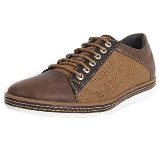Air Hole Fuction Men's Oxford Casual Shoes Bh055 (9 Navy)