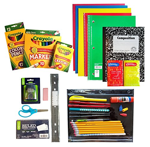 Back To School Supplies Pack, 3rd Through 5th Grades -