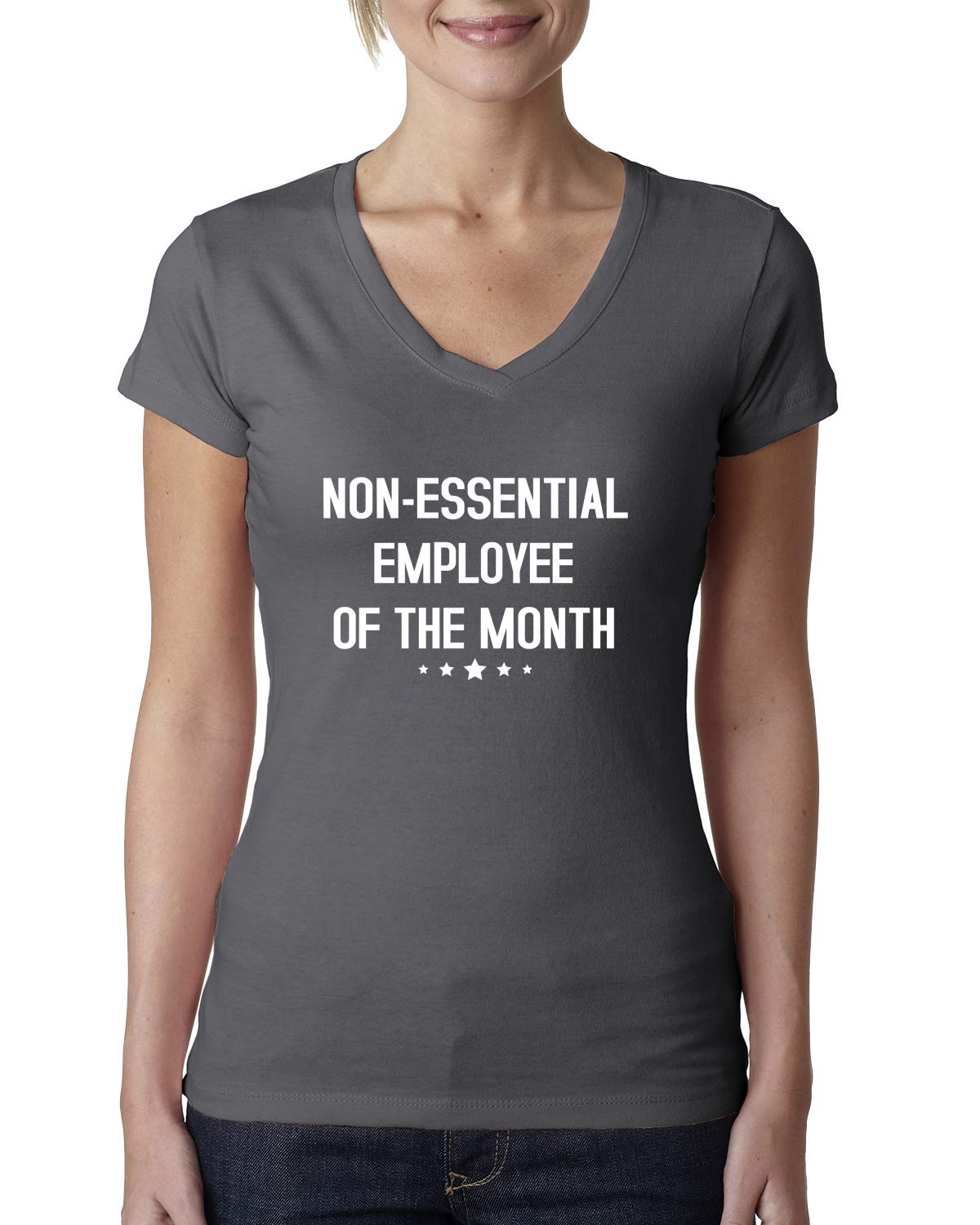 Non-essential Employee Of The Month Stay Home Job   Ts Shirts