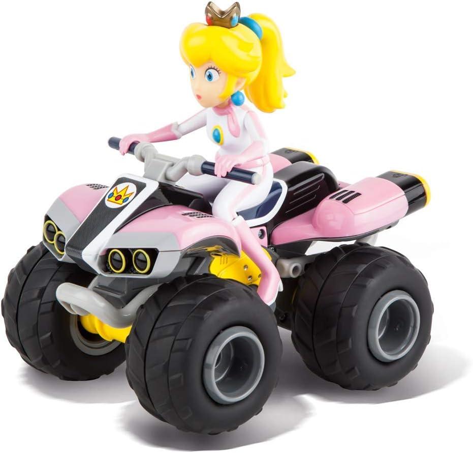 Carrera RC- RC Mario Kart 8 Peach Coche con Radiocontrol Nintendo (370200999)