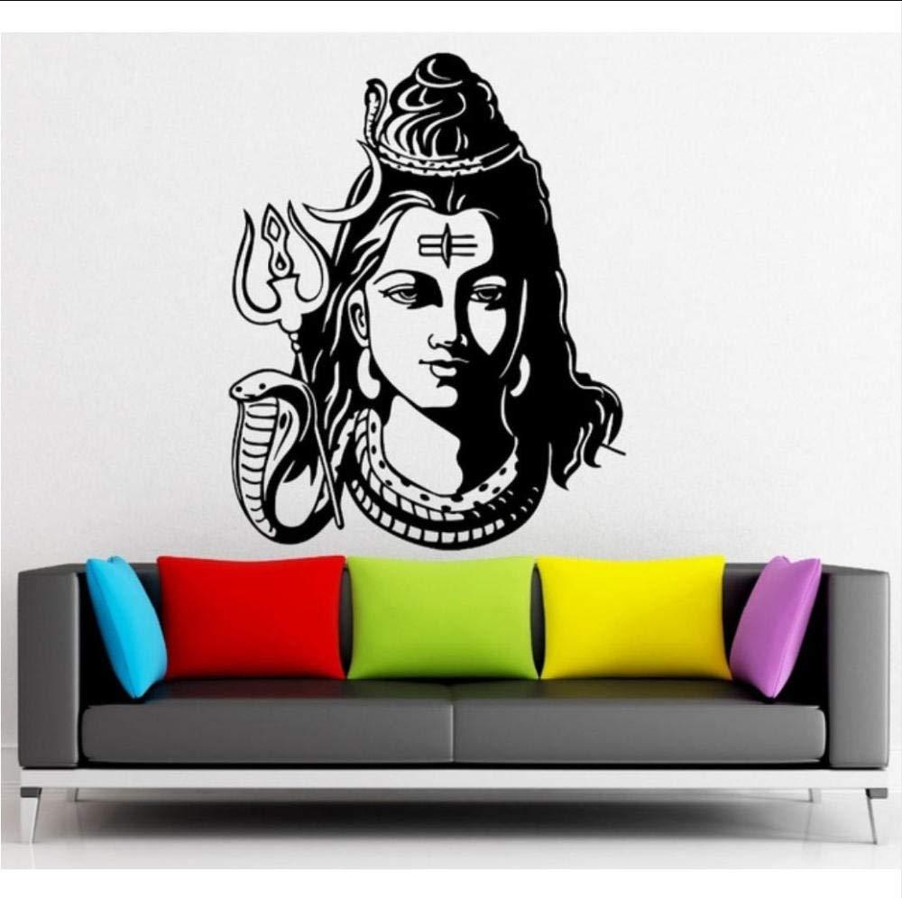 Lord Shiva Wall Sticker Mural Vinyl Decal Art Home Room DIY Decor Wallpaper