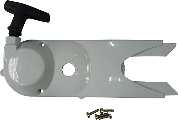 Replacement Recoil Starter Pull Assembly Side Cover Cover For Stihl TS400 Saw