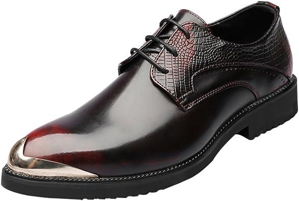 Santimon Mens Shoes Alligator Leather