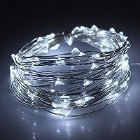 Cadena de Luces LED, 10M Guirnalda de Luces