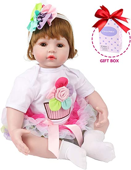 "22/"" Handmade Reborn Doll Girl Toy Doll Child Mate Gift New"