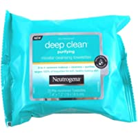 NEUTROGENA Deep Clean Purifying Micellar Wipes 25, 25 count