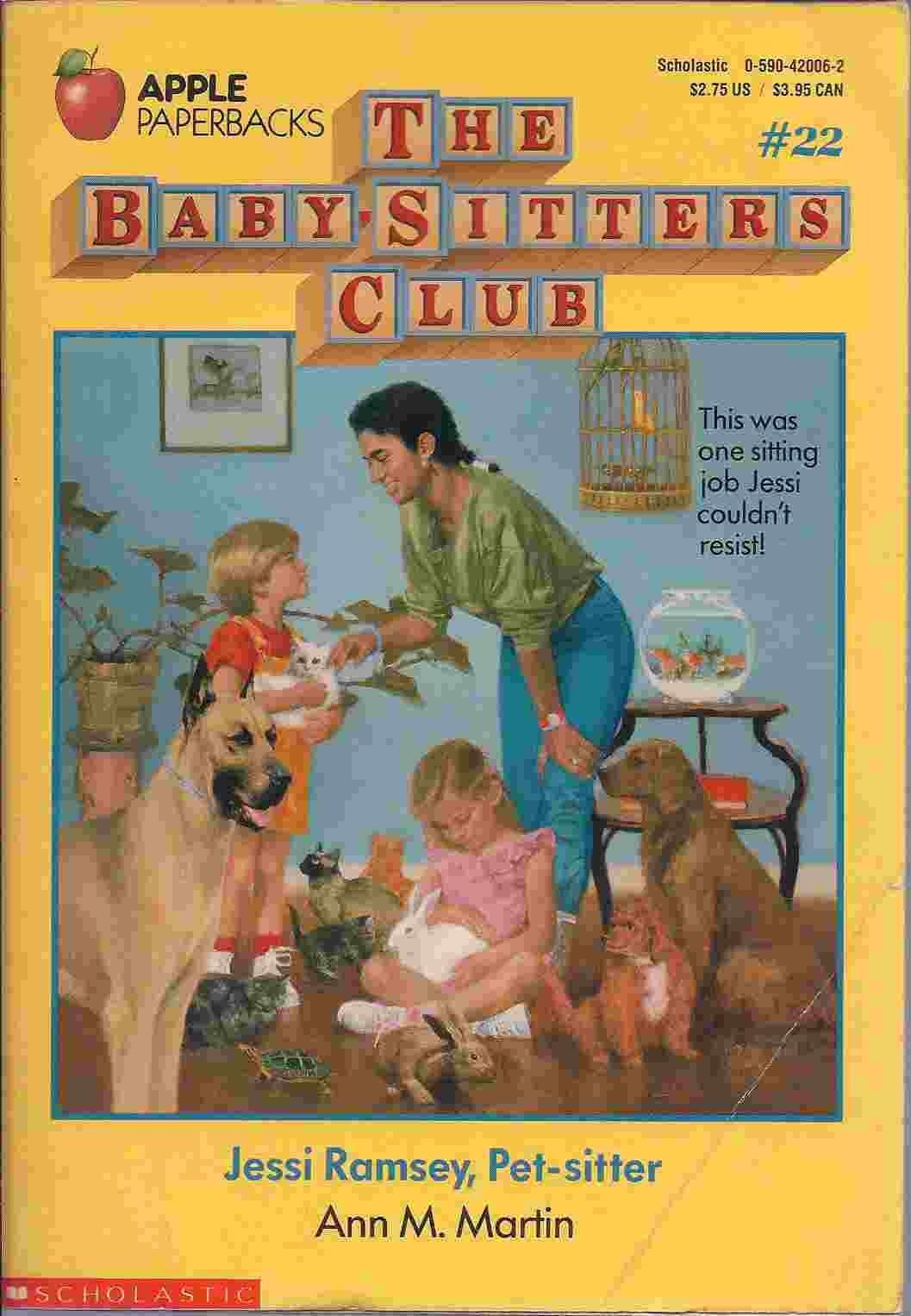 jessi ramsey pet sitter the baby sitters club no 22 ann m