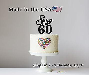 Sexy AtquotAny Agequot Cake Topper With Free Keepsake Base 60 50