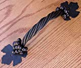Large Grapevine Pull Iron Door & Gate Hardware Decor