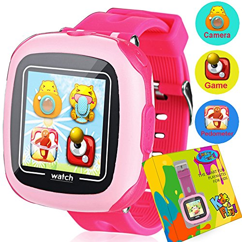 Kids Game Smart Watch - Symfury Smartwatch for Boys Girls Toddler with Pedometer Camera Alarm Clock Stopwatch 1.5'' Touch GPS Activity Fitness Tracker Children Sports Watches Learning Toys 3-12 Years by Symfury (Image #1)