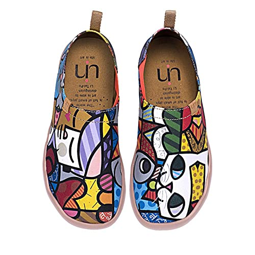 Charmant De Casual Chaussures Multicolore Chat Pour Uin Femme Toiles Bateau edrCxBo