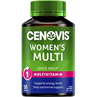 Cenovis Women's Multi - Multivitamin for Women - Supports Energy Levels - Supports Calcium Absorption, 50 Capsules