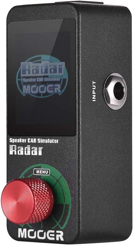 Muslady MOOER Speaker Cab Cabinet Simulator Pedal de efectos ...