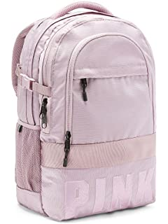 1fe7bf1adf65 Victoria  s Secret PINK Bling Collegiate Backpack School Bag Dreamy Lilac  Straps