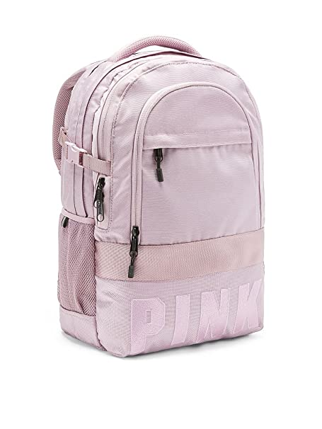 Victoria 's Secret Pink Bling Collegiate Backpack School Bag Dreamy Lilac Straps by Victoria 's Secret Pink