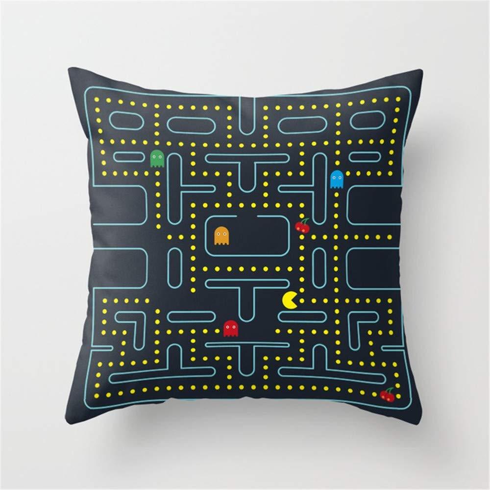 PACMAN Decorative Throw Pillow Cover Decorative