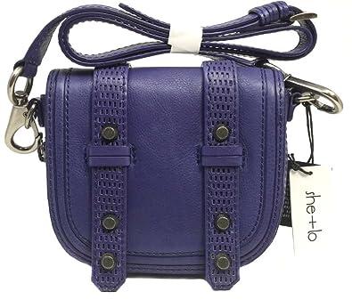 e92106bbd1 She + Lo Unchartered Cross Body, Purple: Handbags: Amazon.com