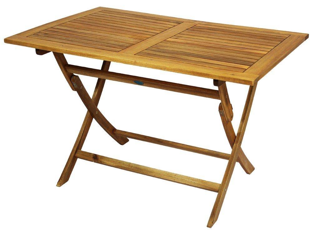 Balkontisch Klapptisch Massivholz natur Holztisch klappbar 90x60