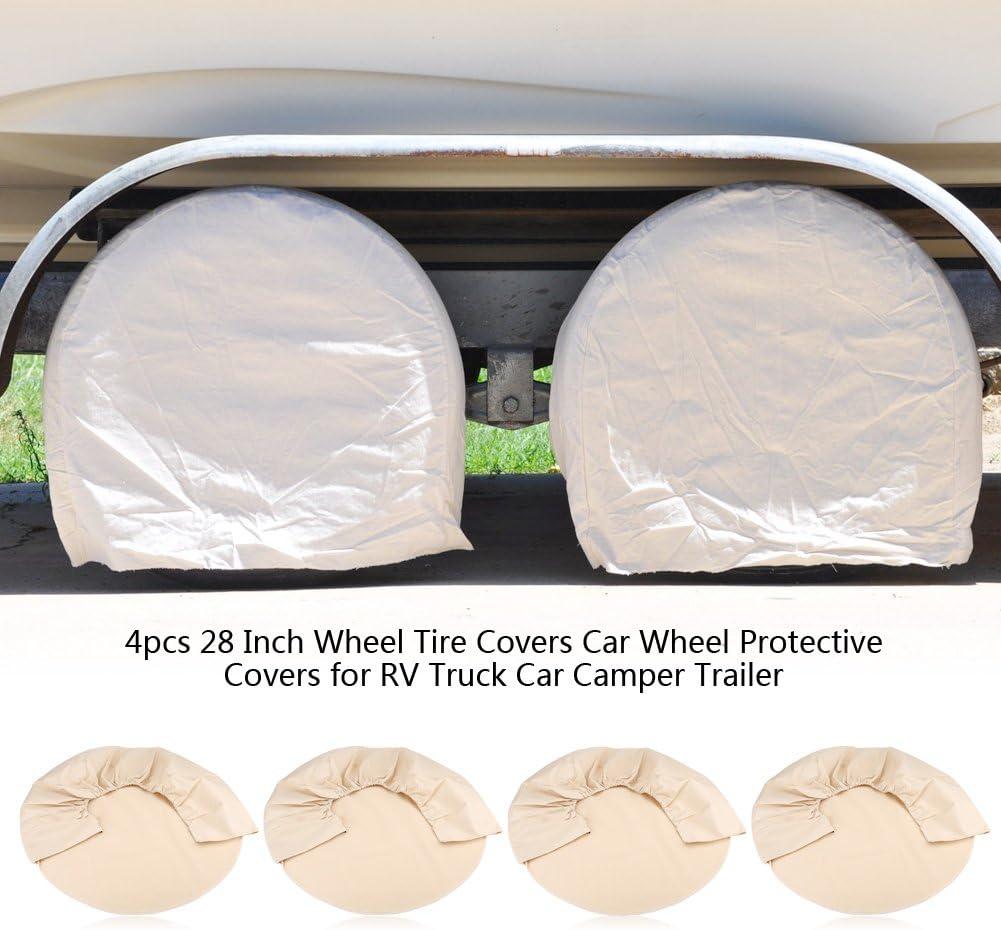 Gototop 4 Stück Auto Reifenüberzug 71 X 26 Cm 28 Zoll Schutz Für Die Aufbewahrung Von Reifen Für Auto Lkw Camping Auto