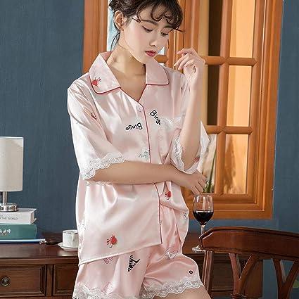 Wenhua Mujer 68 Piezas Ropa de Dormir, Seda, Sexy y ...