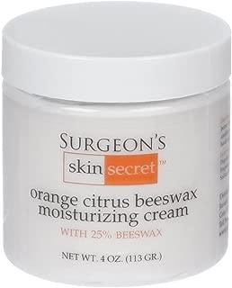 product image for Surgeon's Skin Secret 25% Beeswax Cream 4 Oz Jar (Orange Citrus)