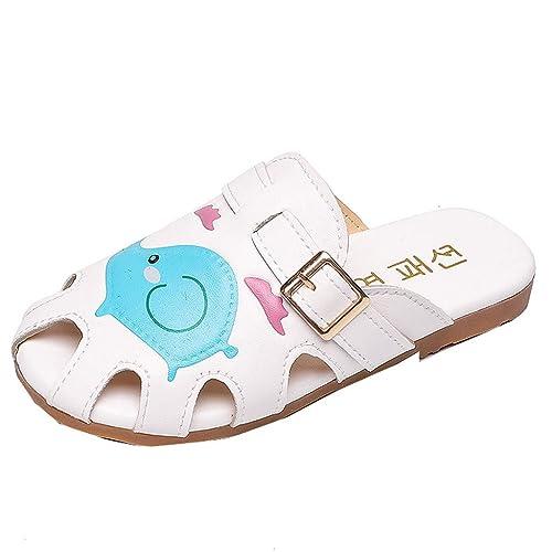 online store 91a2a 5a5af UOMOGO Pantofole da Bambina Stampa Aniaml,da Spiaggia da ...