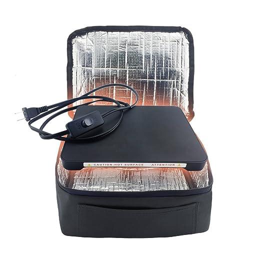 YIBOSS Mini Horno eléctrico portátil con todos los recipientes de ...