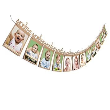 Amazon Inkach Photo Wall Hanging Picture Frames 1 12 Month