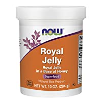 NOW Supplements, Royal Jelly 730 mg with Raw Honey, Natural Bee Product, Superfood...