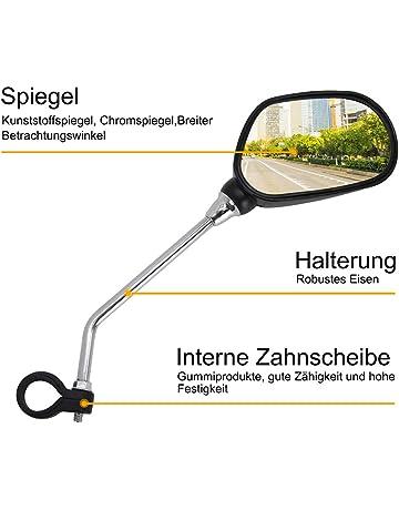 """linke Seite Fahrrad und E-Bike Rückspiegel /""""E-View/"""" verstellbar"""