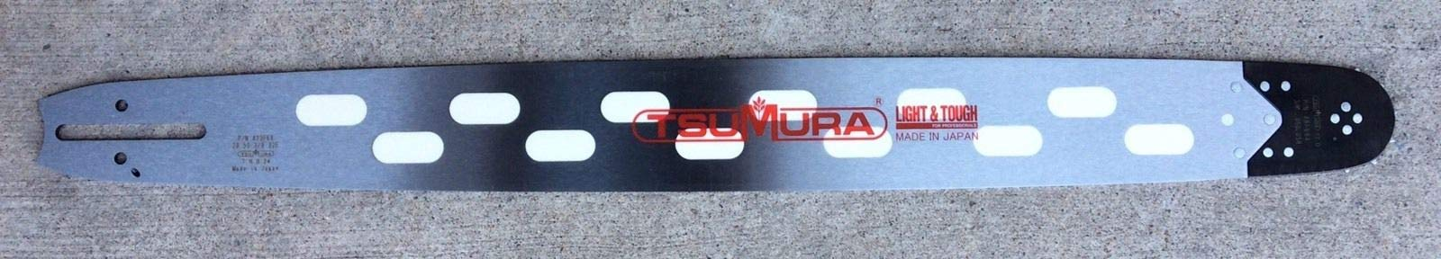 TsuMura 24'' Light Weight Bar D009 Mount Husqvarna 372XP 385XP 575XP 394XP 570 3120XP by TsuMura