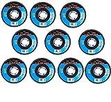 Cal-Hawk 20 Pack 4-1/2'' Auto Body Sanding Flap Discs 40 Grit