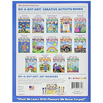 Do A Dot Art! Discovering My World Creative Activity and Coloring Book: WALT SHELLY: Toys & Games