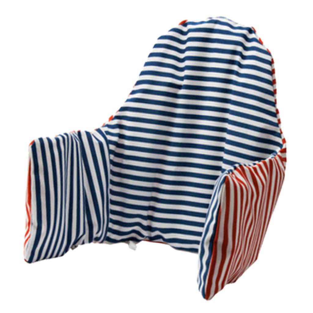 Polyester Atmungsaktive Sitzauflage Sitzverkleinerer f/ür Hochstuhl Gr/ö/ße: Ca Blau 92 x 39 cm