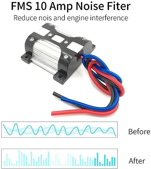 Mr Ho 10 Amp 12v Entstörfilter Kfz Massefilter Geräusch Noise Audio Cinch Entkoppler Ground Loop Isolator