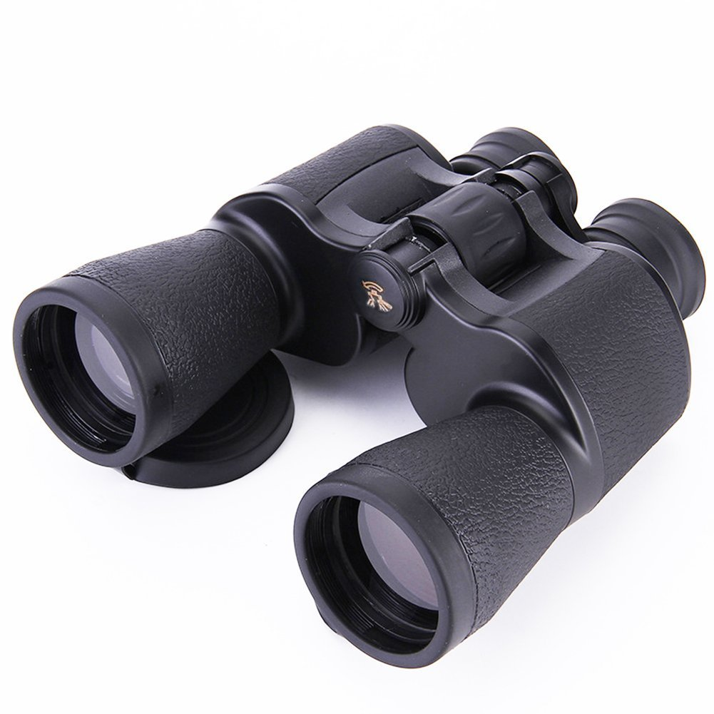 Pulaisen 10x Magnification Ultra HD Binoculars for Birds Watching Climbing Outdoor Sightseeing Sport Game Concerts