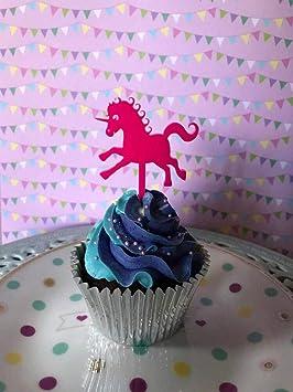 Decoration Pour Cupcakes Licorne Happy Birthday Cake Decor Girls