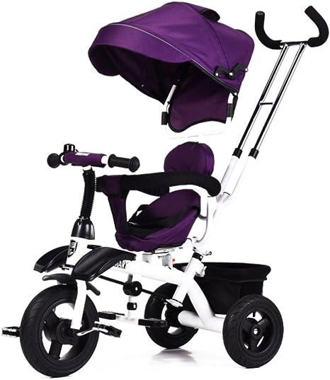 Sillita De Paseo Triciclo para Niños Bicicleta para Bebés ...