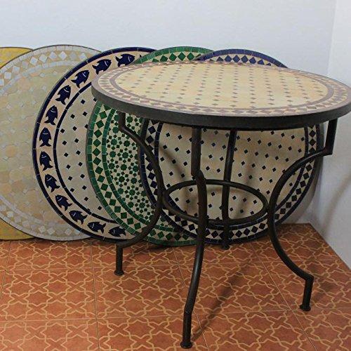 Tables de jardin Cuisine & Maison Table Ronde Zellige ...