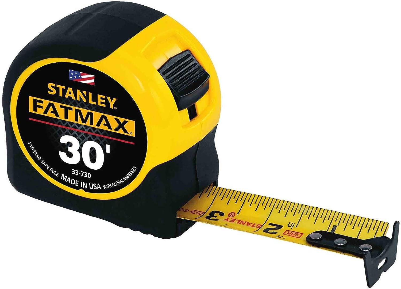Stanley FatMax Tape Measure 30ft. (Pack of 4)