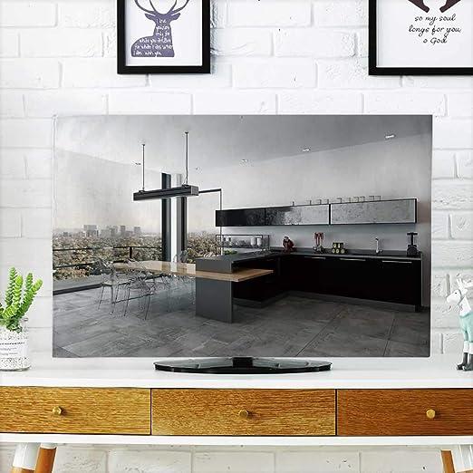 Analisahome Protege tu TV Elegante diseño Interior de Cocina con ...