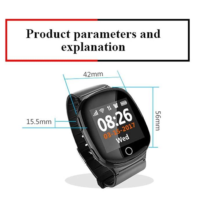 Amazon.com: Glo buy Elderly Children GPS Smart Watch, Map ...