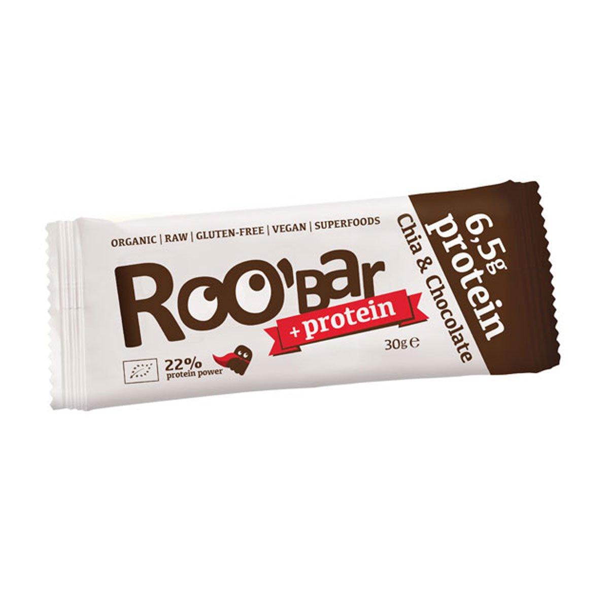 ROOBAR - Barritas Proteicas Ecológicas - Chia y Chocolate ...
