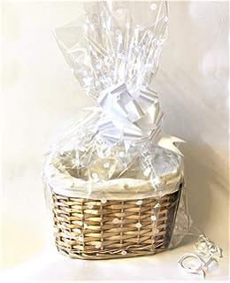Gold Bow JVL Small Make Your Own Gift Hamper Kit