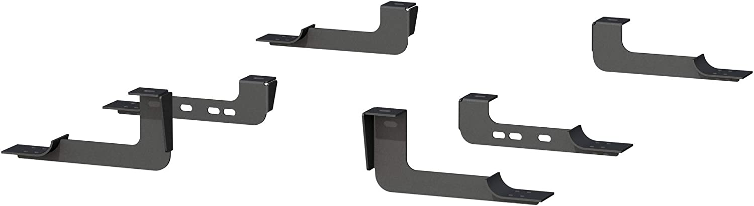 ARIES 4494 Mounting Brackets for 6-Inch Oval Nerf Bars Sold Separately