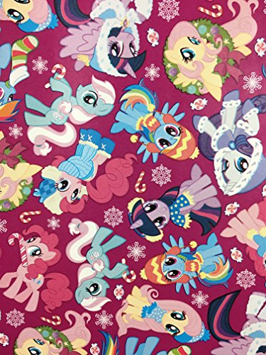 My Little Pony Christmas Gift Wrapping Paper --20 Square Feet 1 -