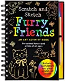 img - for Scratch and Sketch Furry Friends: An Art Activity Book for Animal Lovers and Artists of All Ages (Scratch & Sketch) book / textbook / text book