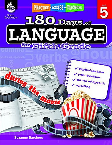 180 Days of Language for Fifth Grade (180 Days of Practice ...